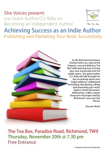 Becoming an Independent Author Flyer